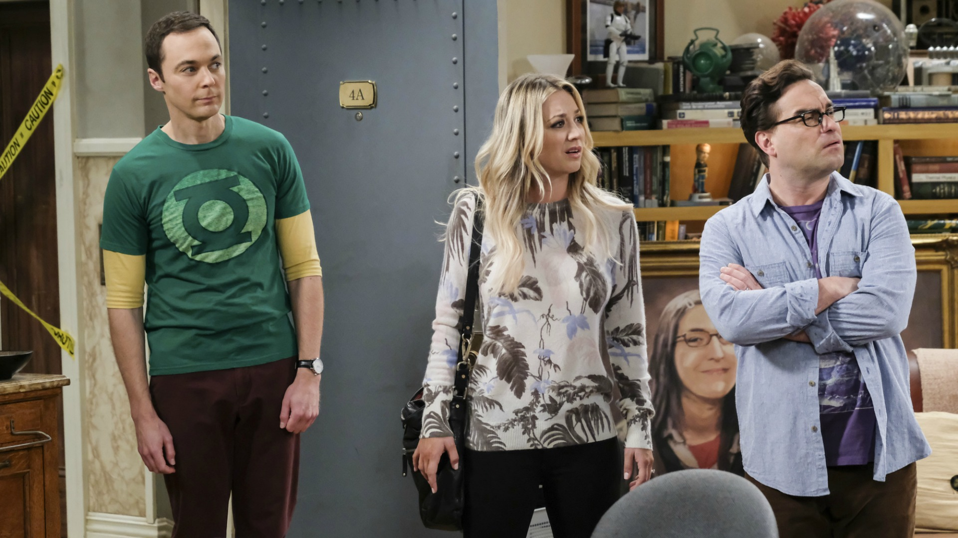 Sheldon shows up just in time to explain.