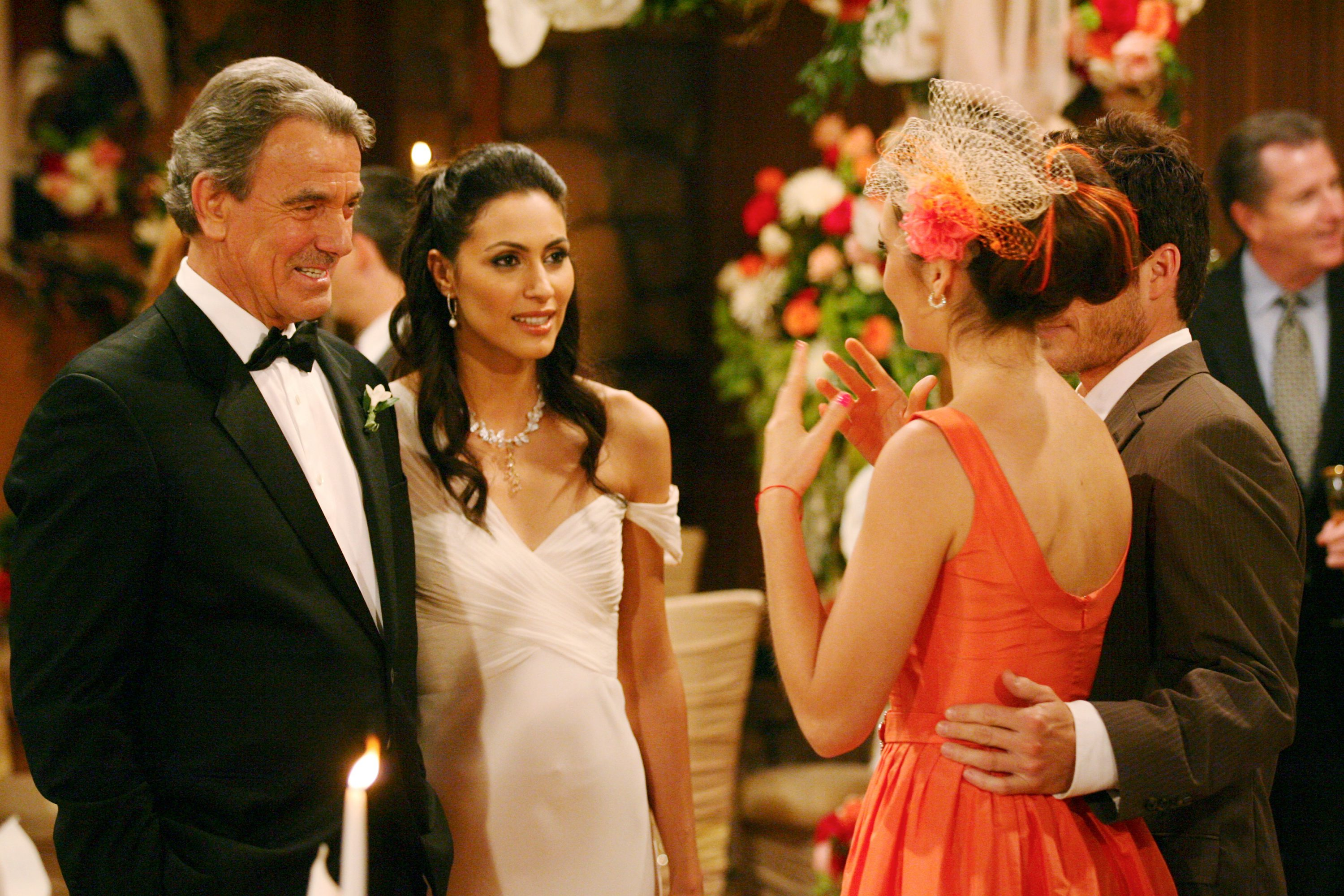 Victor married his daughter's best friend, Sabrina Costelana, during a lavish summertime wedding.