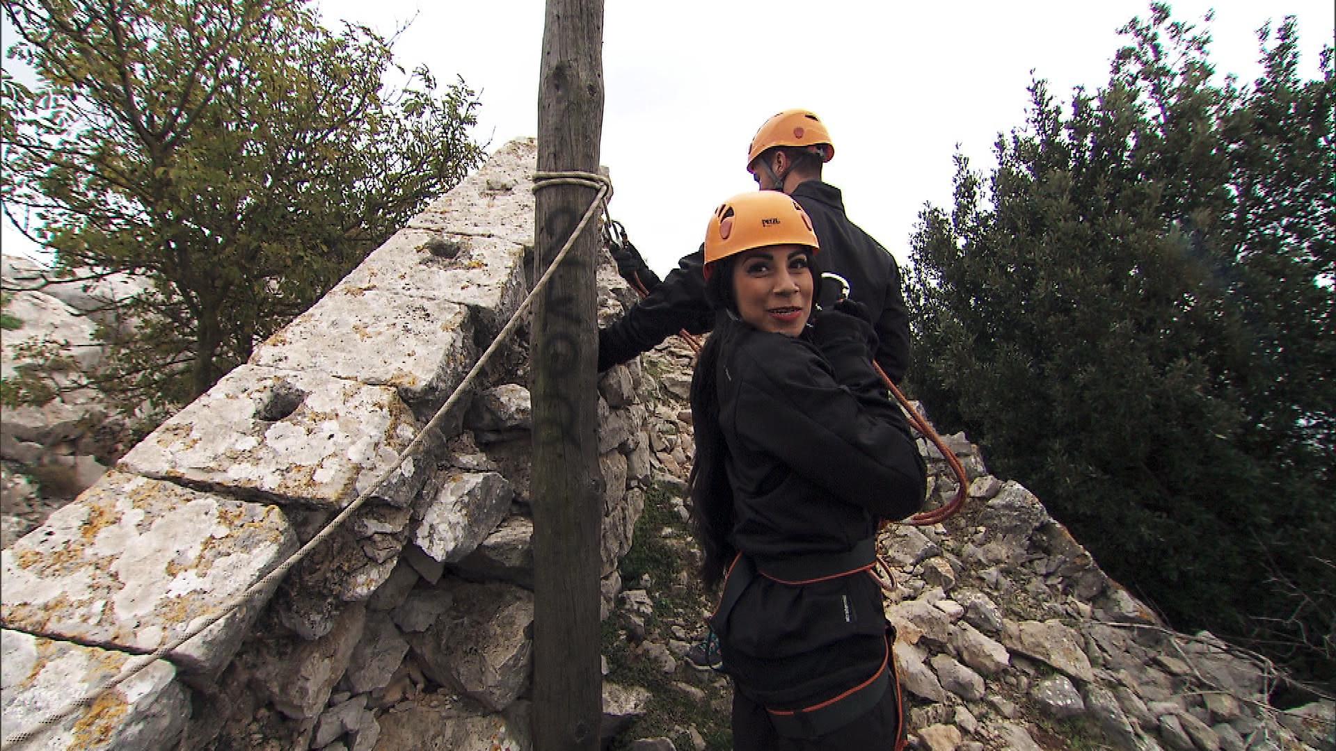 A zip lining adventure