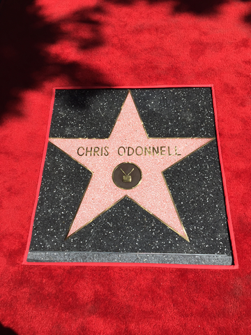 Chris O'Donnell's brand new star