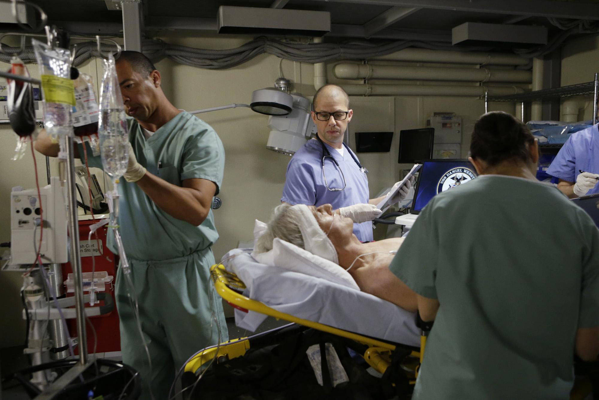 Jon Cryer as Gibbs' surgeon, Dr. Cyril Taft.