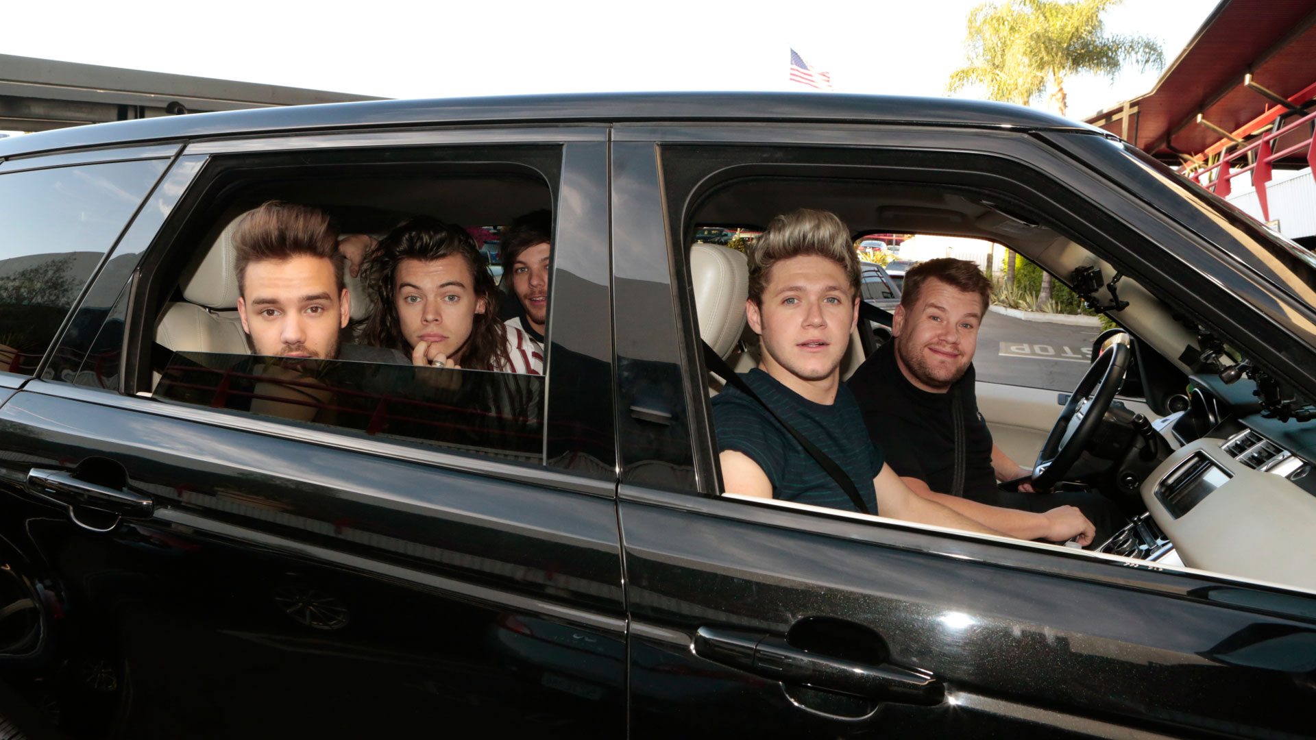 One Direction became the first group to do Carpool Karaoke.