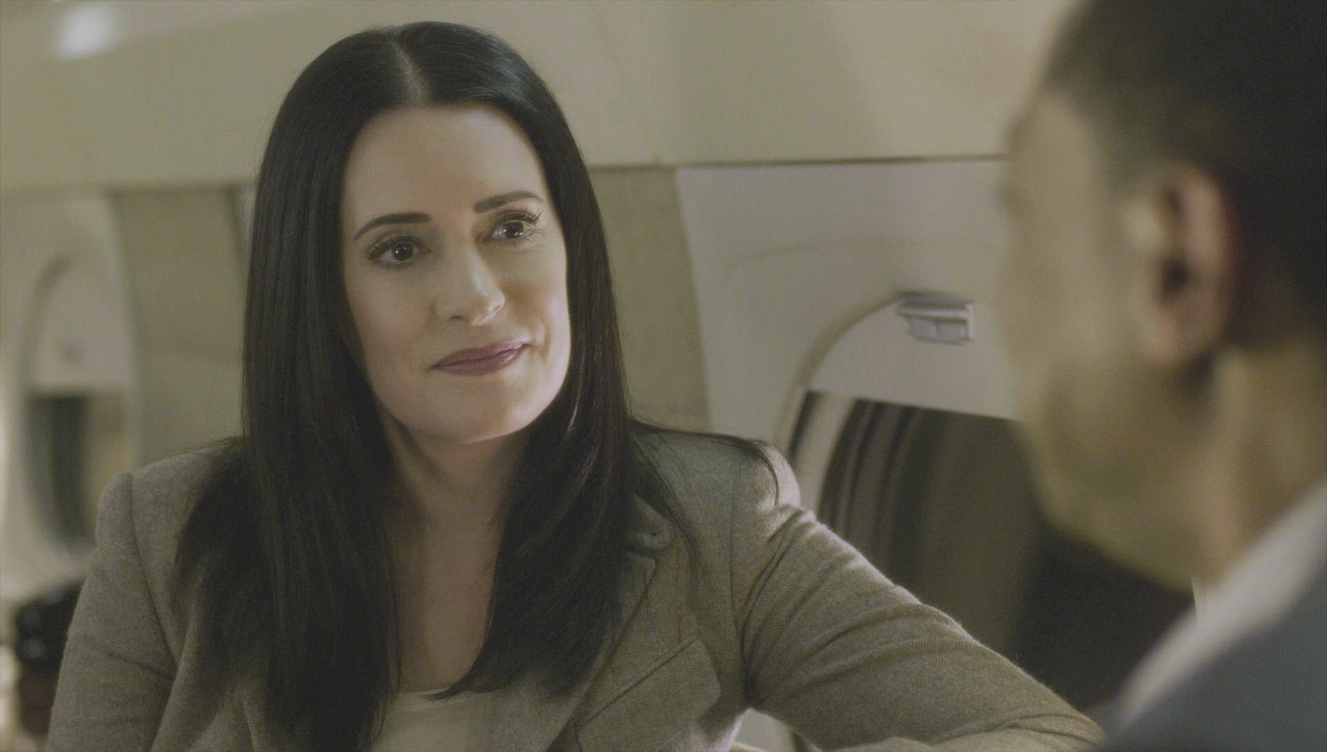 Prentiss follows up with Walker after the case.