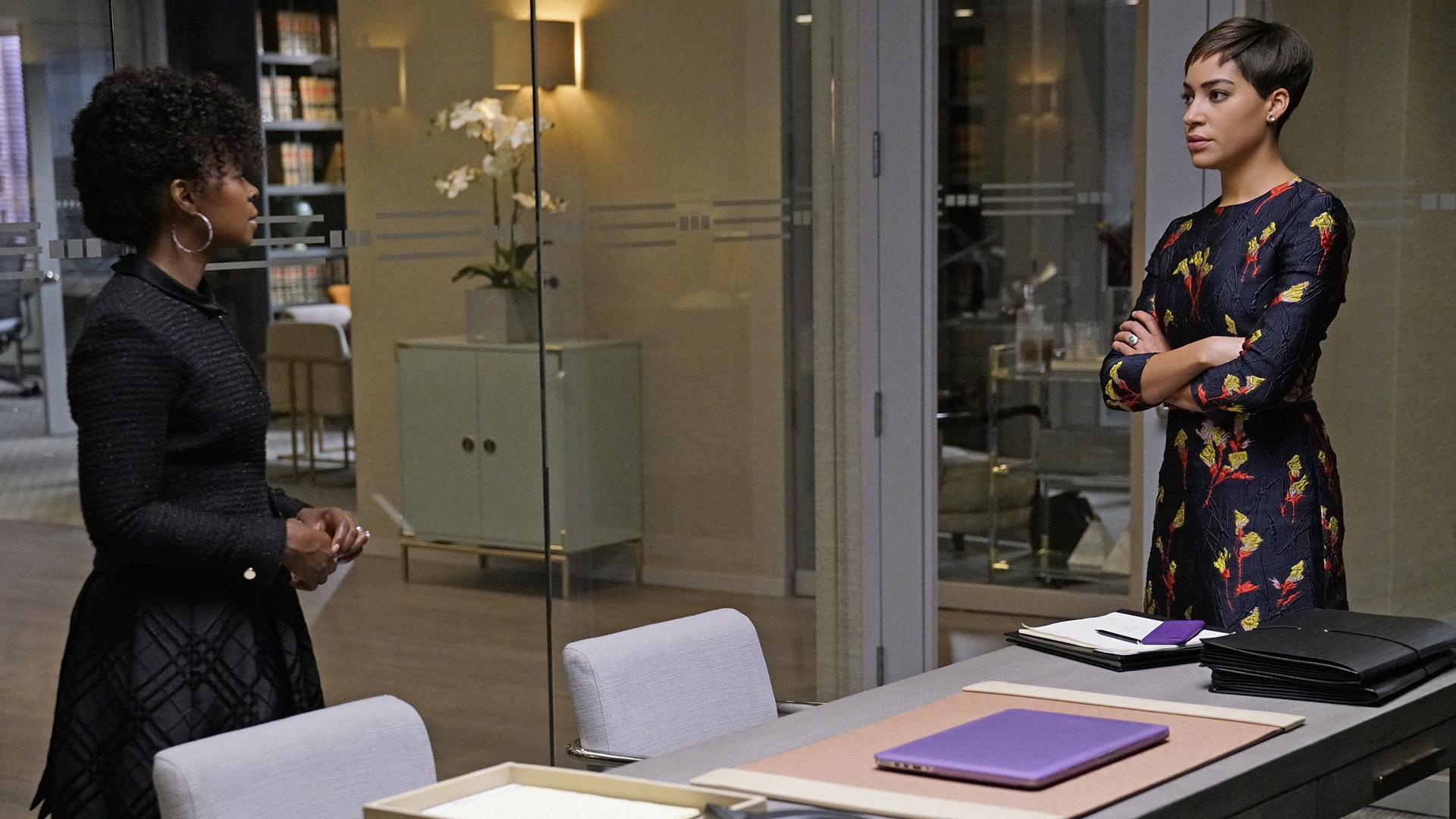 Lucca Quinn has a frank conversation with Barbara Kolstad.