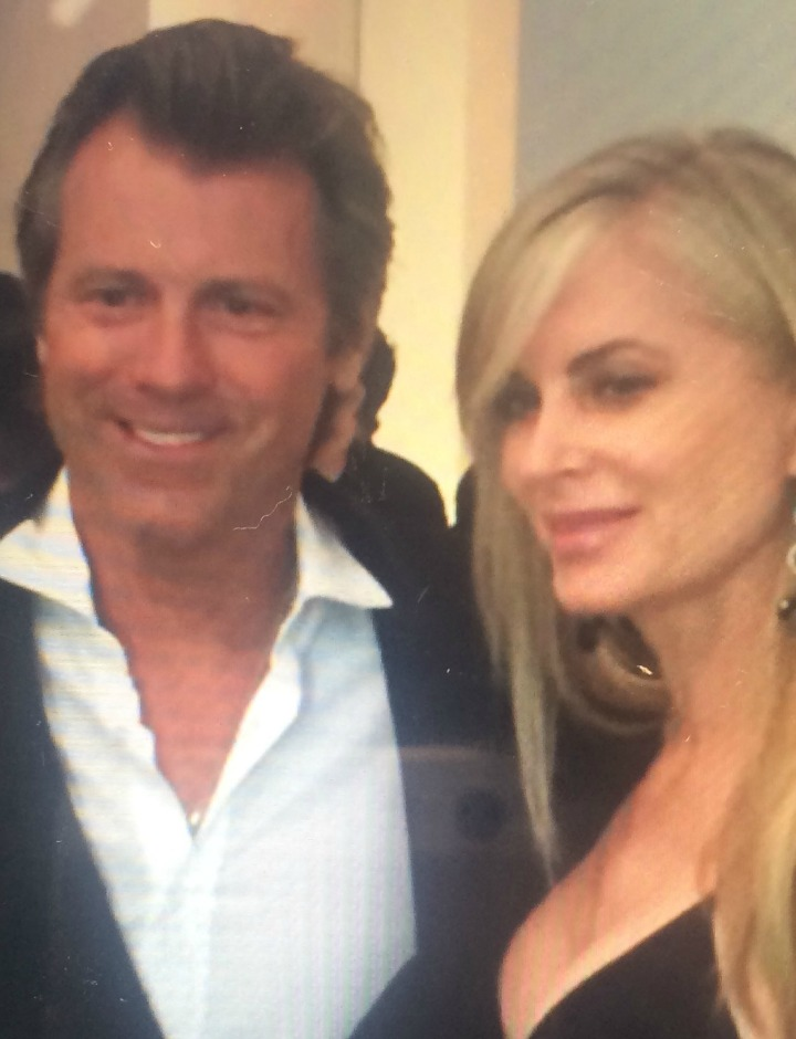 Eileen Davidson (Ashley Abbott) was thrilled to celebrate the 15th anniversary of her husband Vinnie's show in Las Vegas.