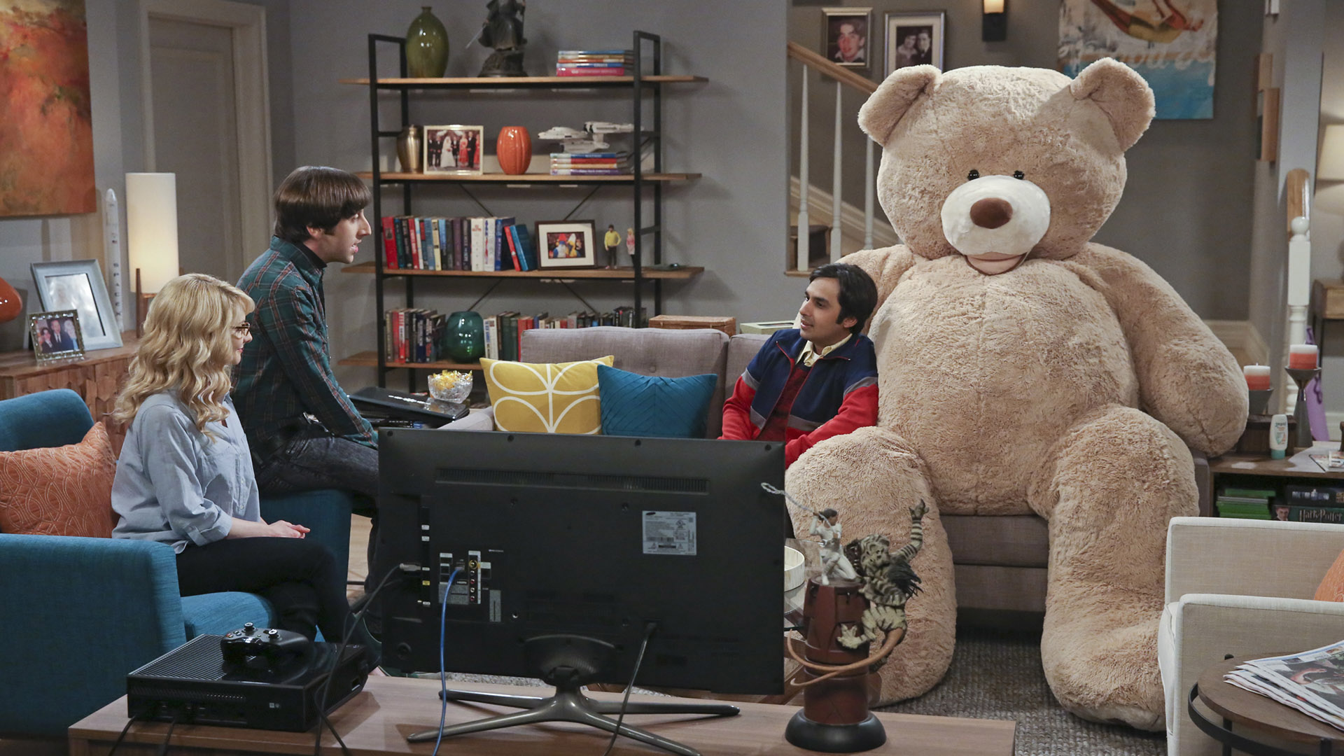 Snuggle up with your favorite teddy bear.