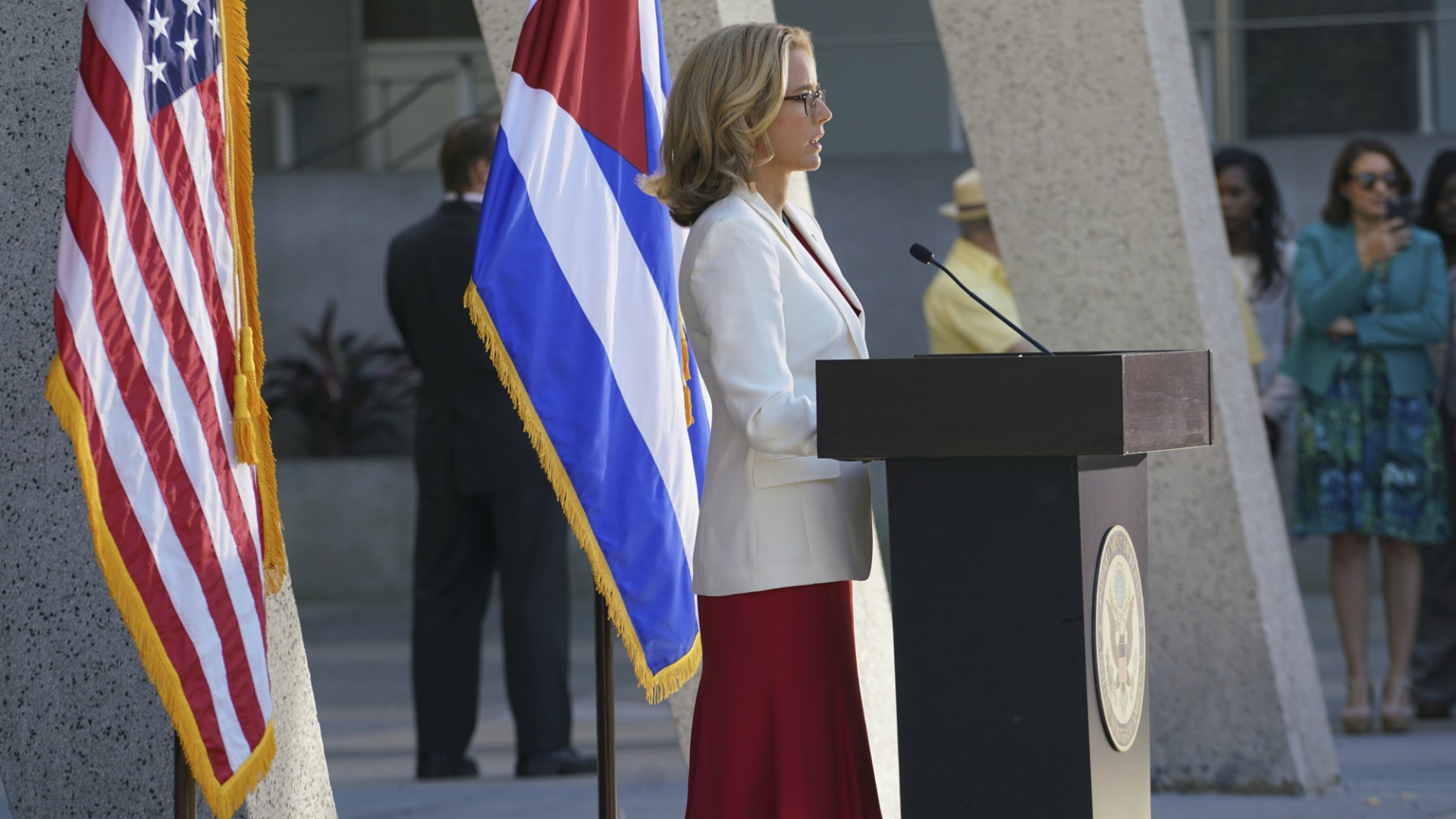 Bess made history by reopening the U.S. embassy in Cuba.