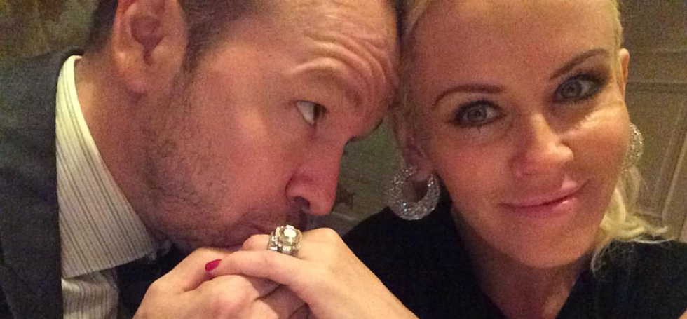 33. Donnie Wahlberg married Jenny McCarthy this past Labor Day weekend.