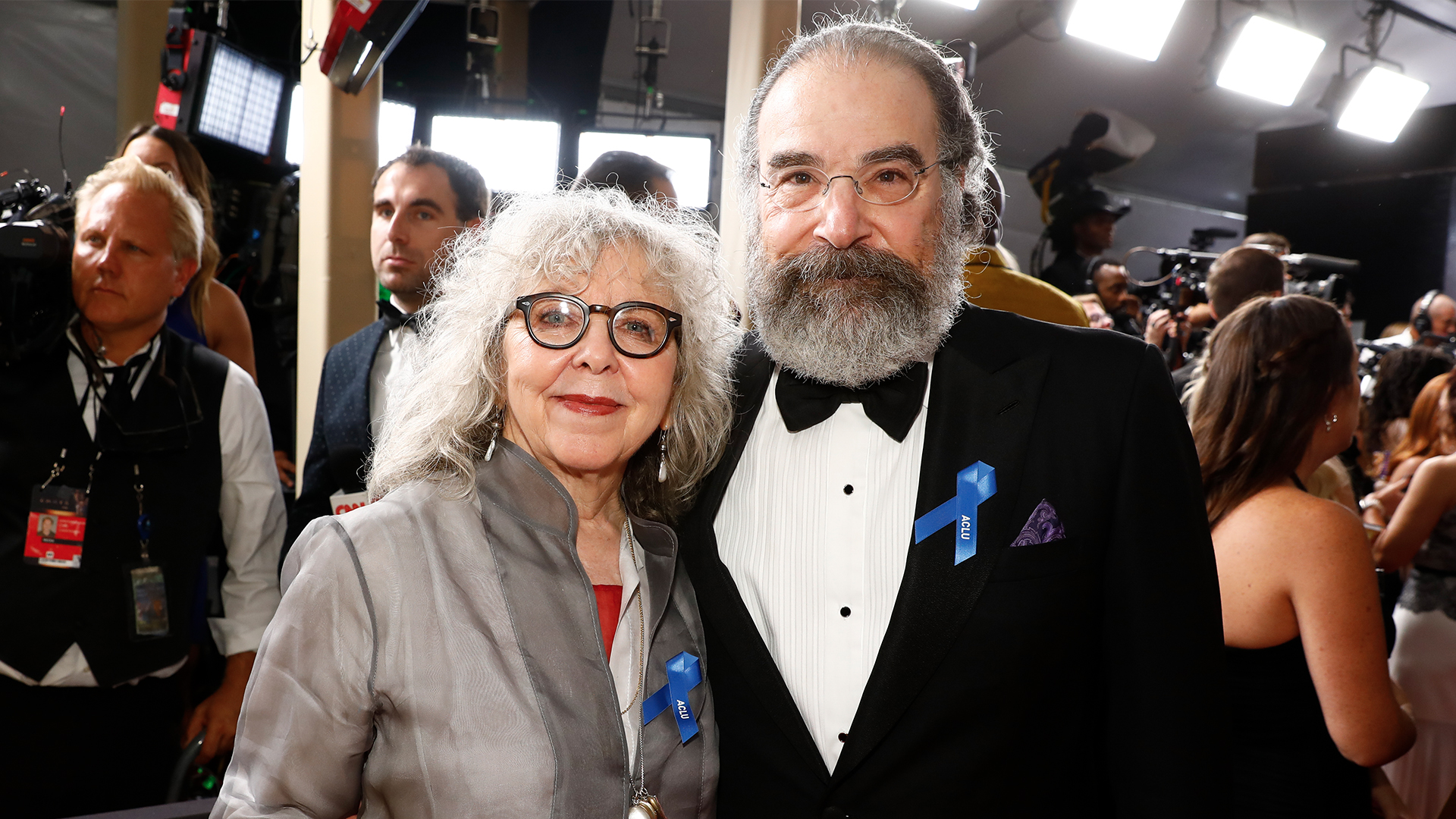 Mandy Patinkin and wife Kathryn Grody