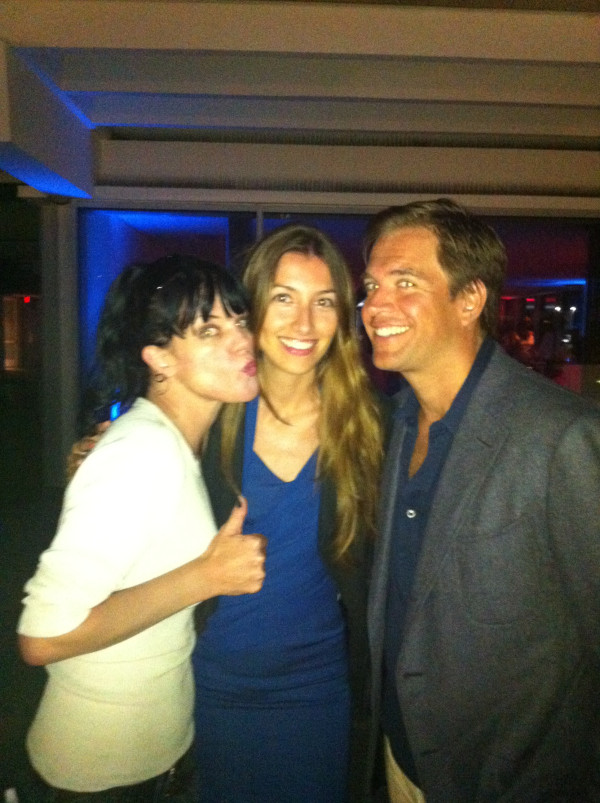Pauley with the Weatherly's