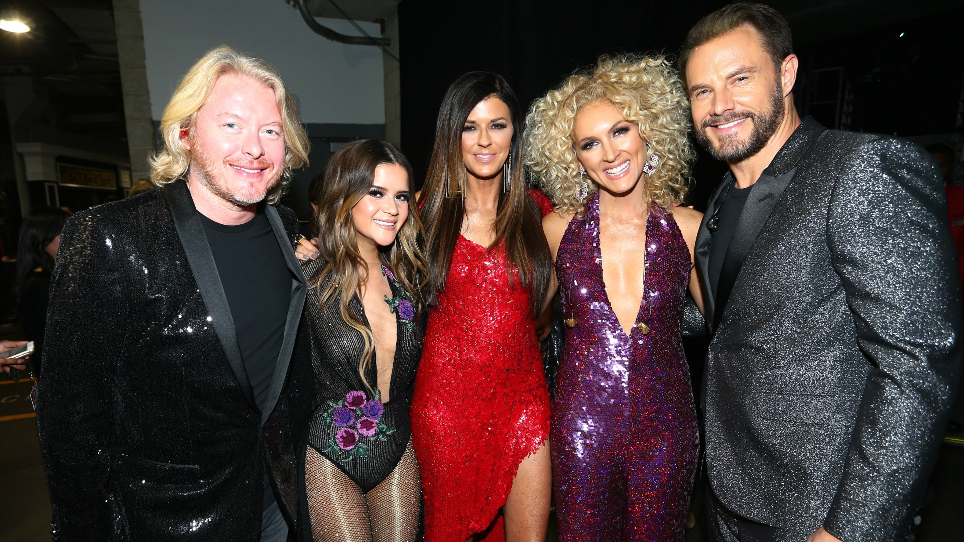 Little Big Town and Maren Morris offer up a whole lotta shimmer and sequins.