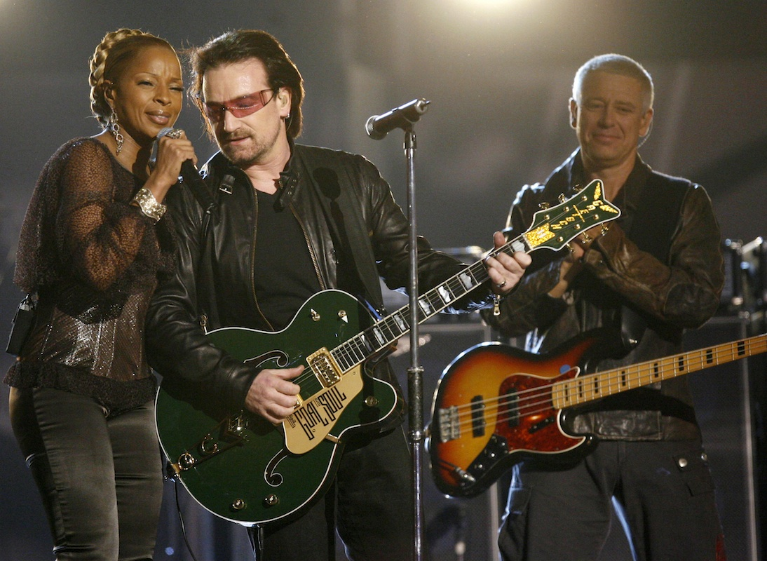 The time U2 sang with Mary J Blige