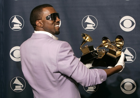 The time Kanye West smiled