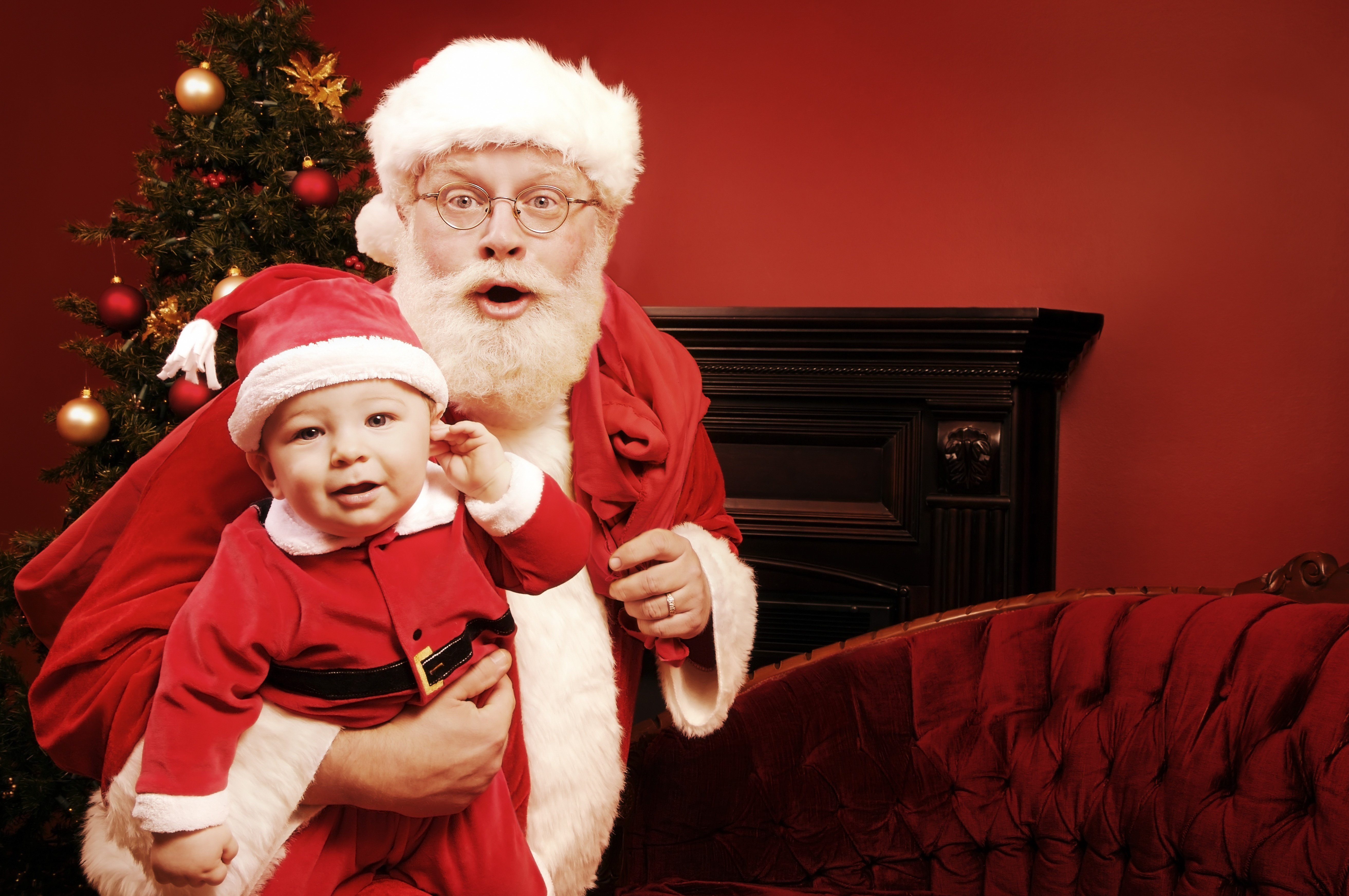 Santa should be a just little mischievous.