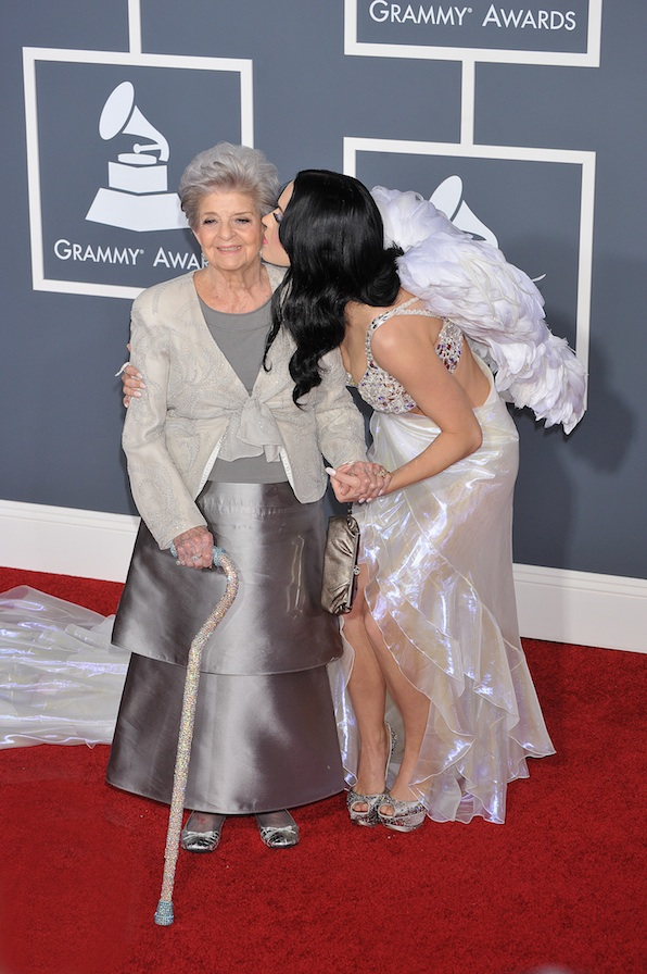 The time Katy Perry invited her grandmother