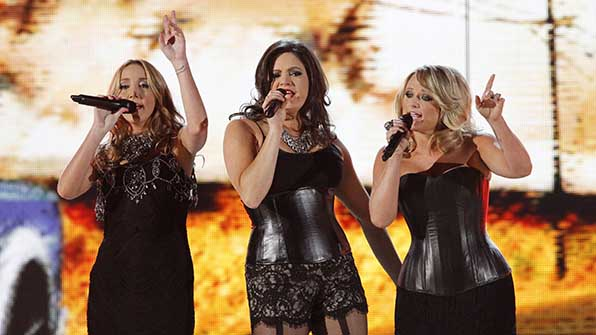 10. She and her longtime gal pals formed the band Pistol Annies.