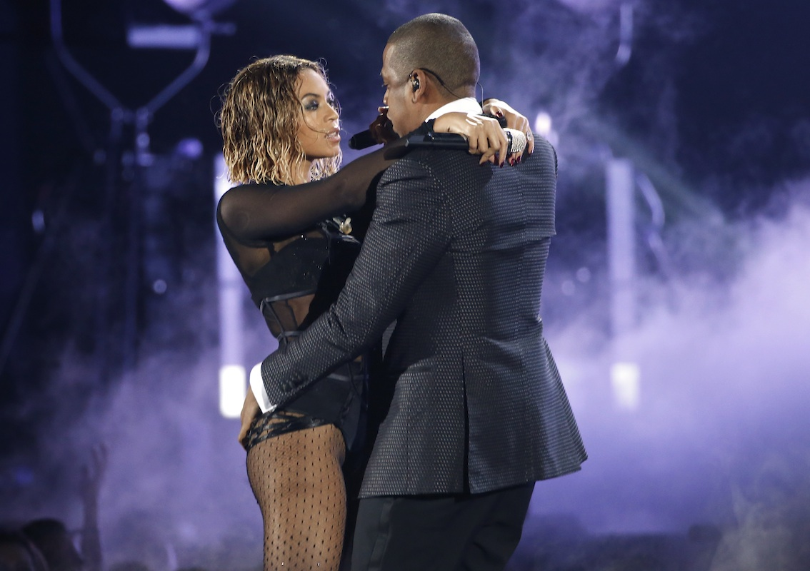The time Beyoncé and Jay Z heated up the stage
