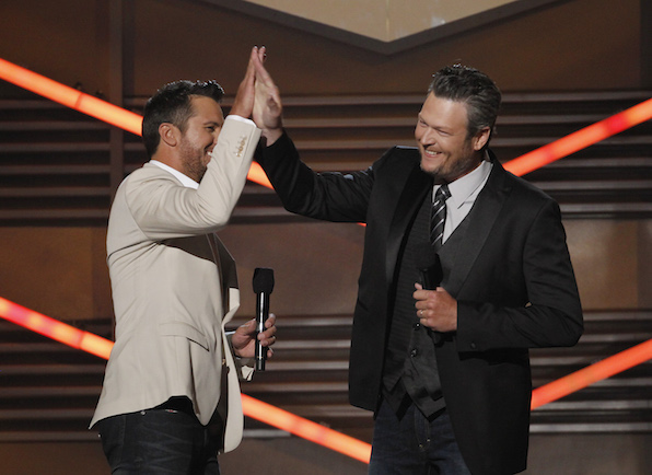 25. The ACMs will host country music's No. 1 bromance.