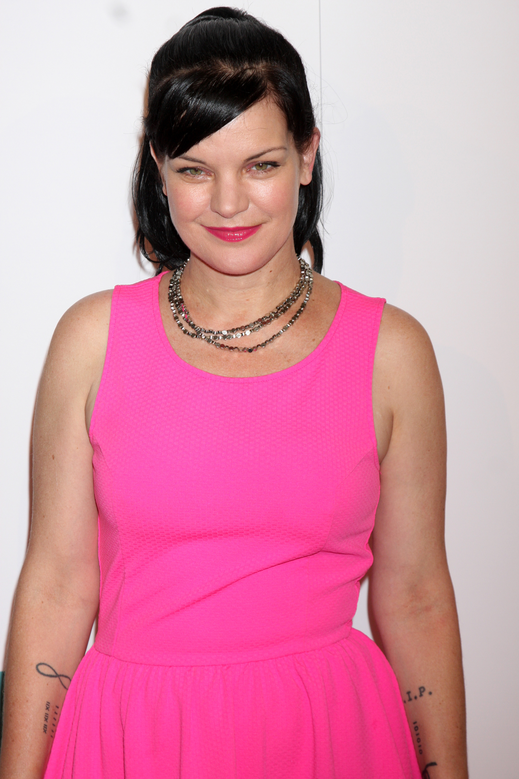 Pauley Perrette is a fighter