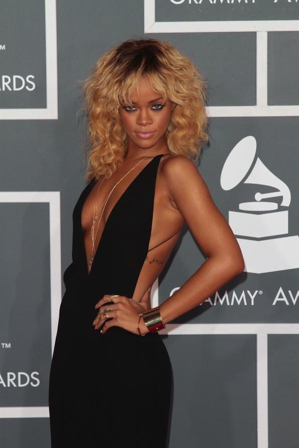 Rihanna serves just the right amount of attitude...