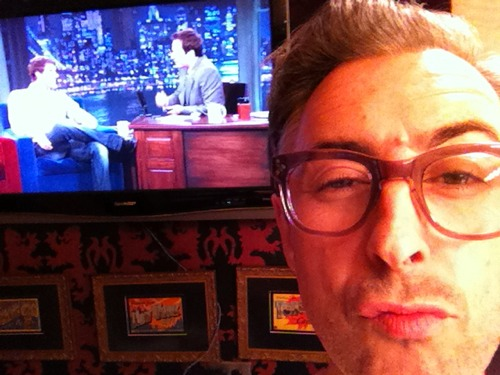 Alan at Jimmy Fallon