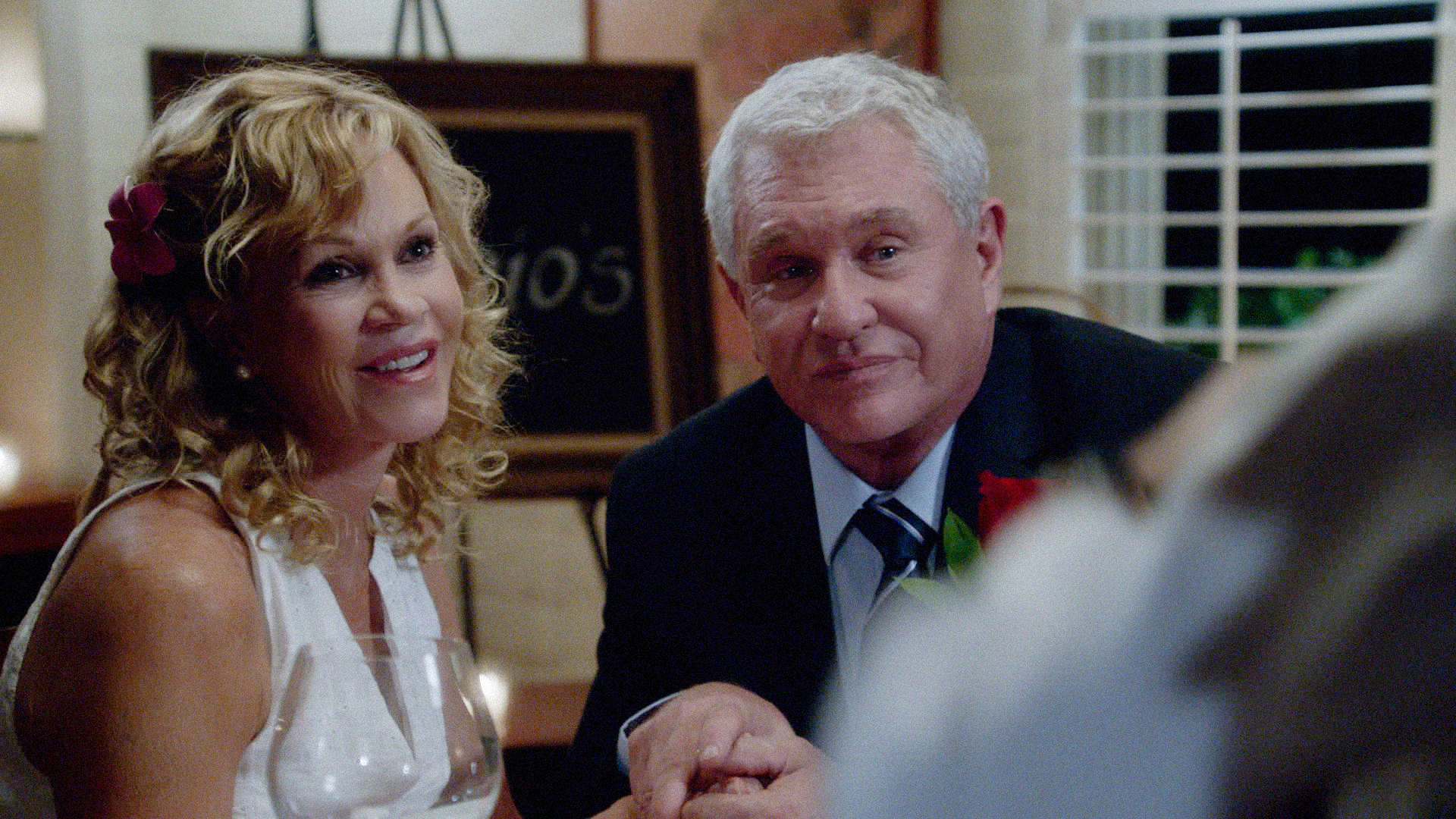 Melanie Griffith and Tom Berenger in