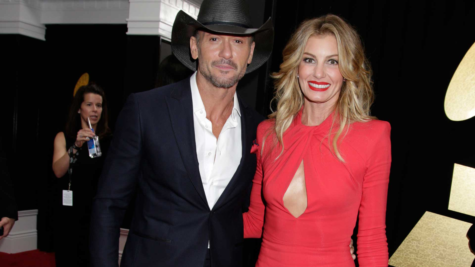 GRAMMYs 2017: Tim McGraw and Faith Hill