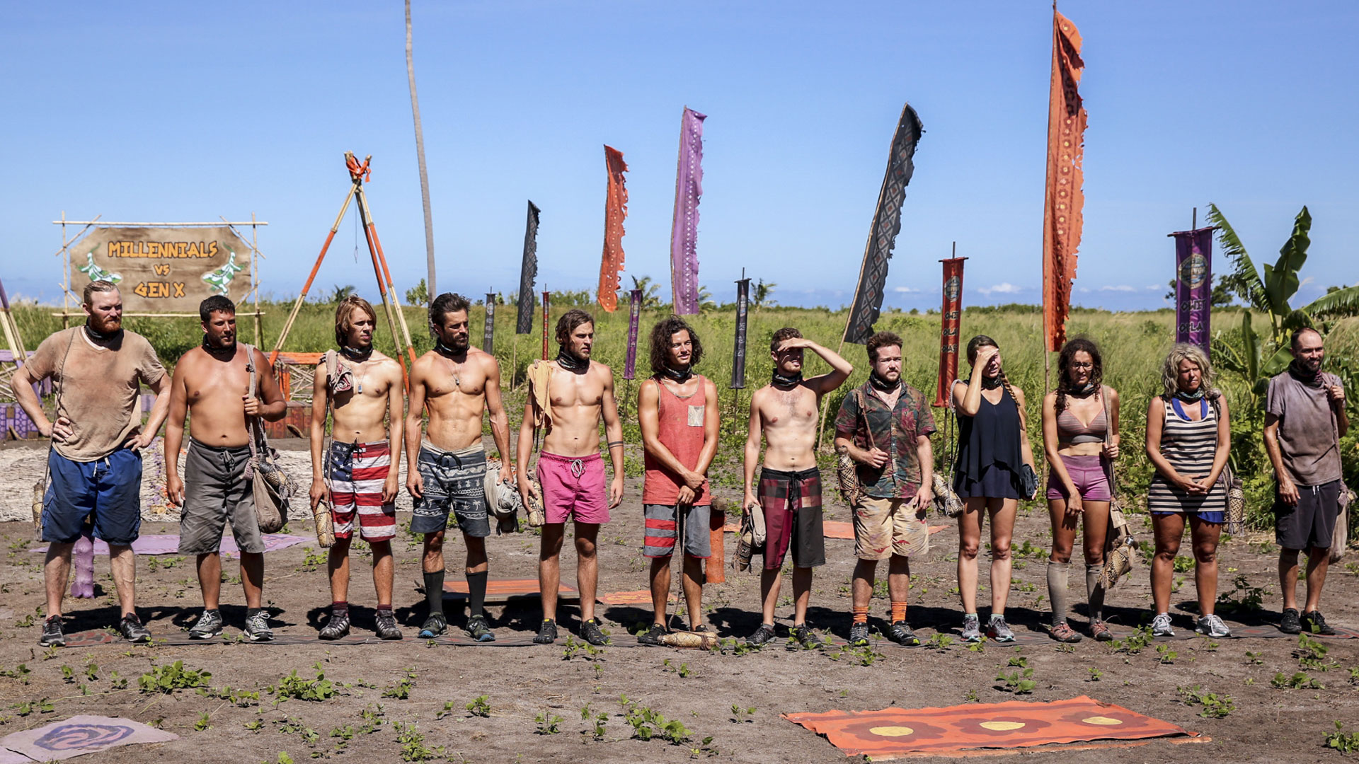 Take a look at the final 12 castaways.