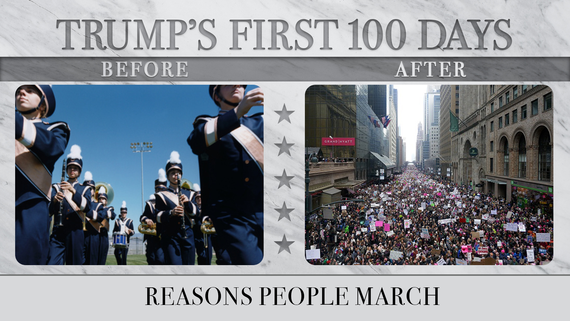 Reasons People March