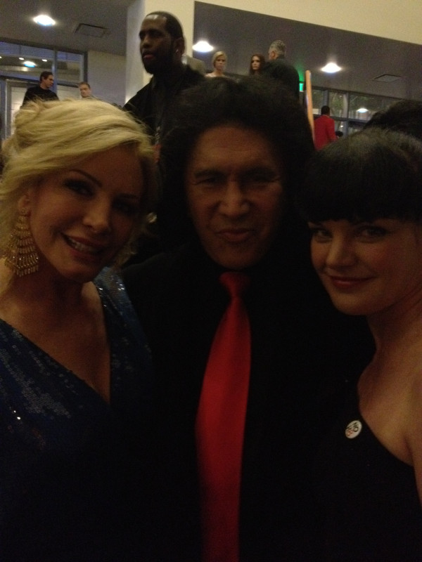 Pauley, Gene Simmons and Shannon Tweed