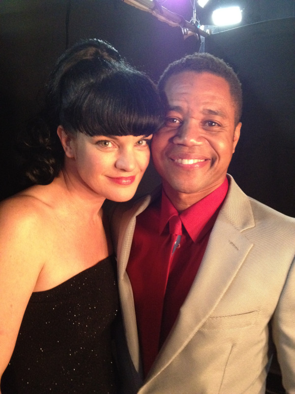 Pauley and Cuba Gooding Jr.