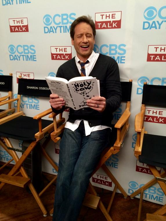 5. David Duchovny Cracked Us Up.