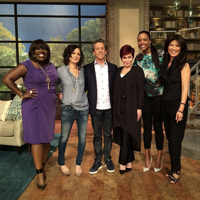 4. Brian Grazer and the ladies!