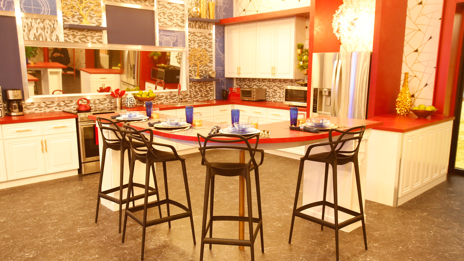 Get Tempted By The Look Of Big Brother S New House Big Brother Photos Cbs Com