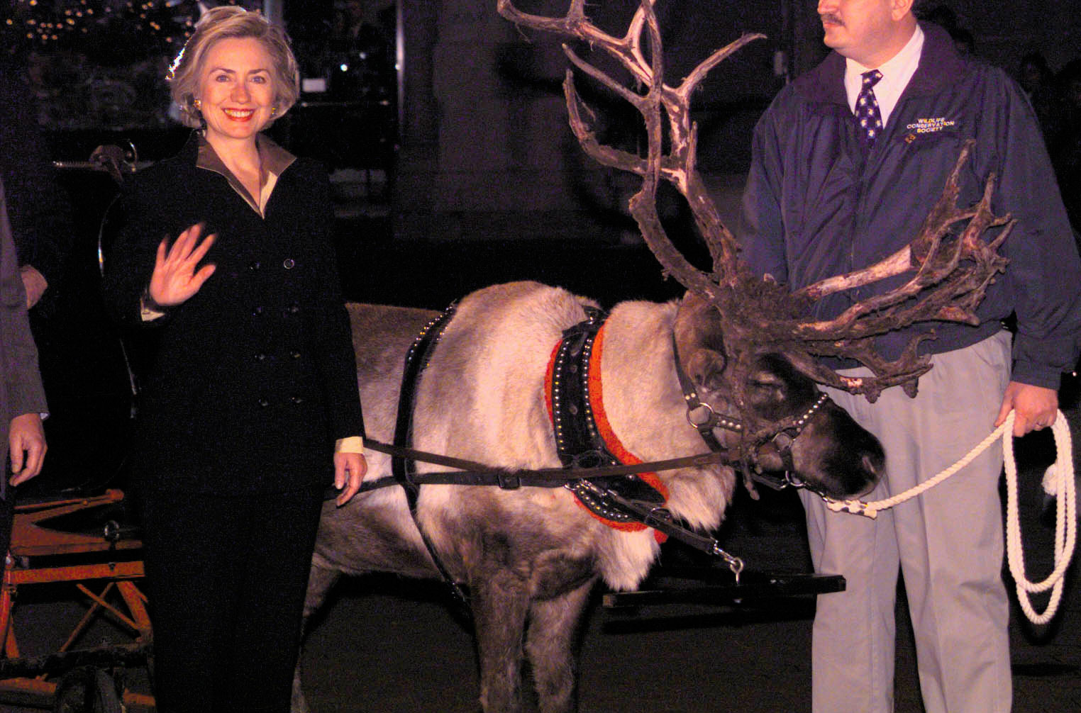10. Hillary Clinton Visits the Bronx Zoo