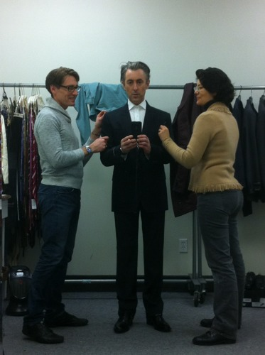Alan Cumming Fitting