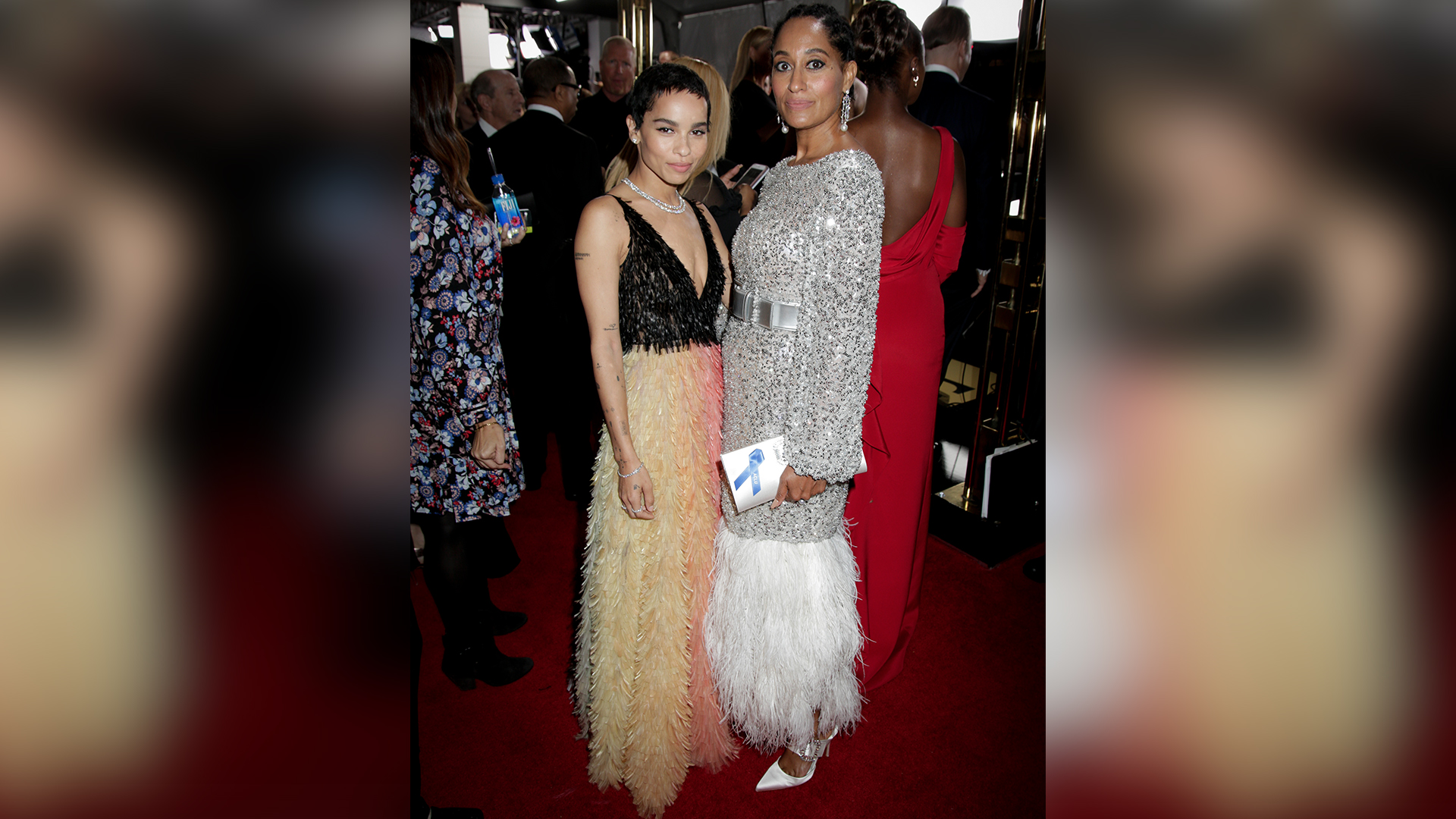 Zoe Kravitz from Big Little Lies and Tracee Ellis Ross from Black-ish