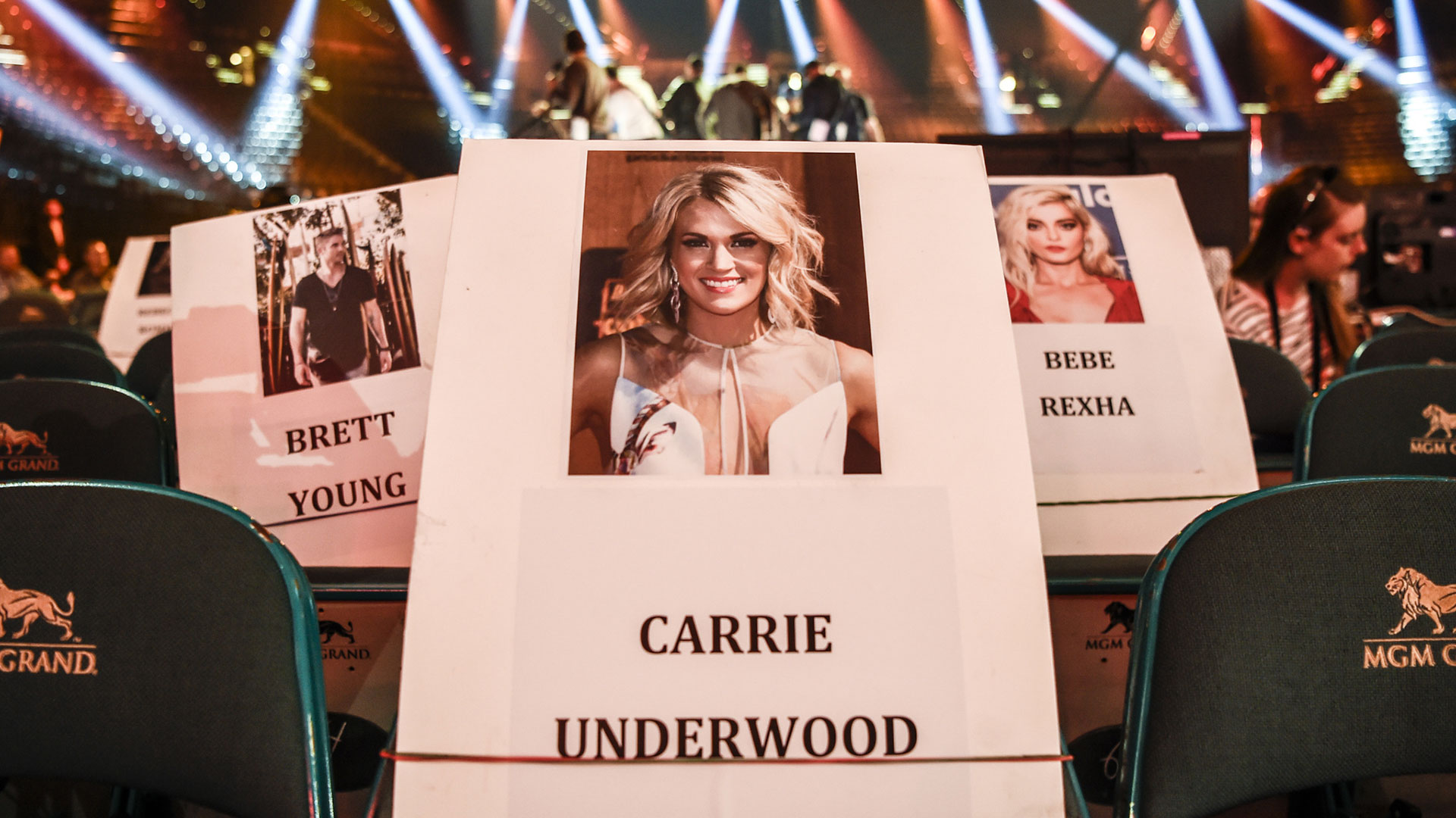 Expect to see Carrie Underwood in the crowd near Brett Young before she debuts her brand-new single live on stage.