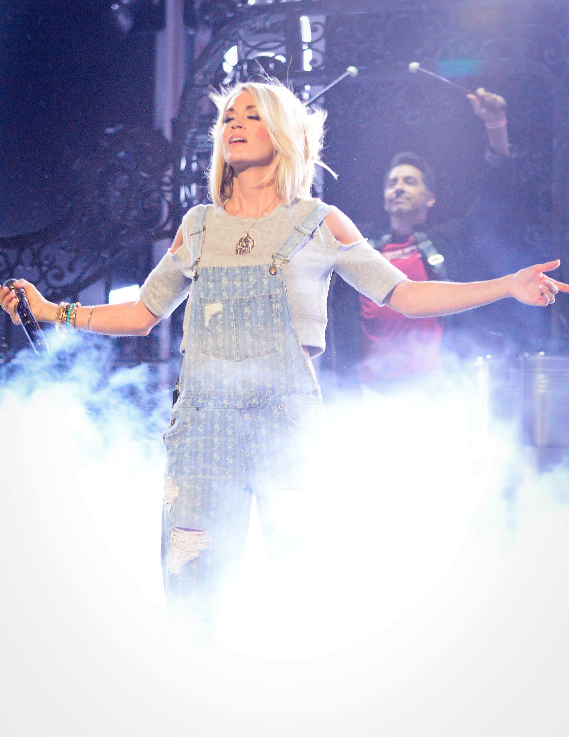 Carrie Underwood prepares to blow fans away at Country Music's Party of the Year®