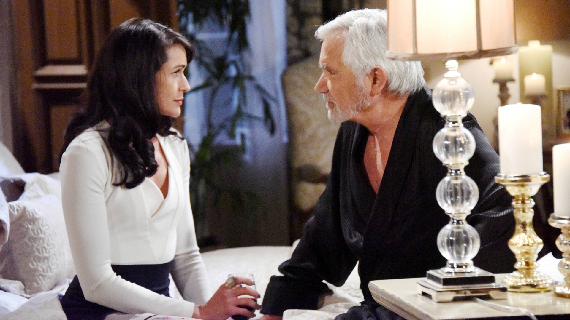 Quinn becomes jealous when she learns that another woman was in her home with Eric while she was away.