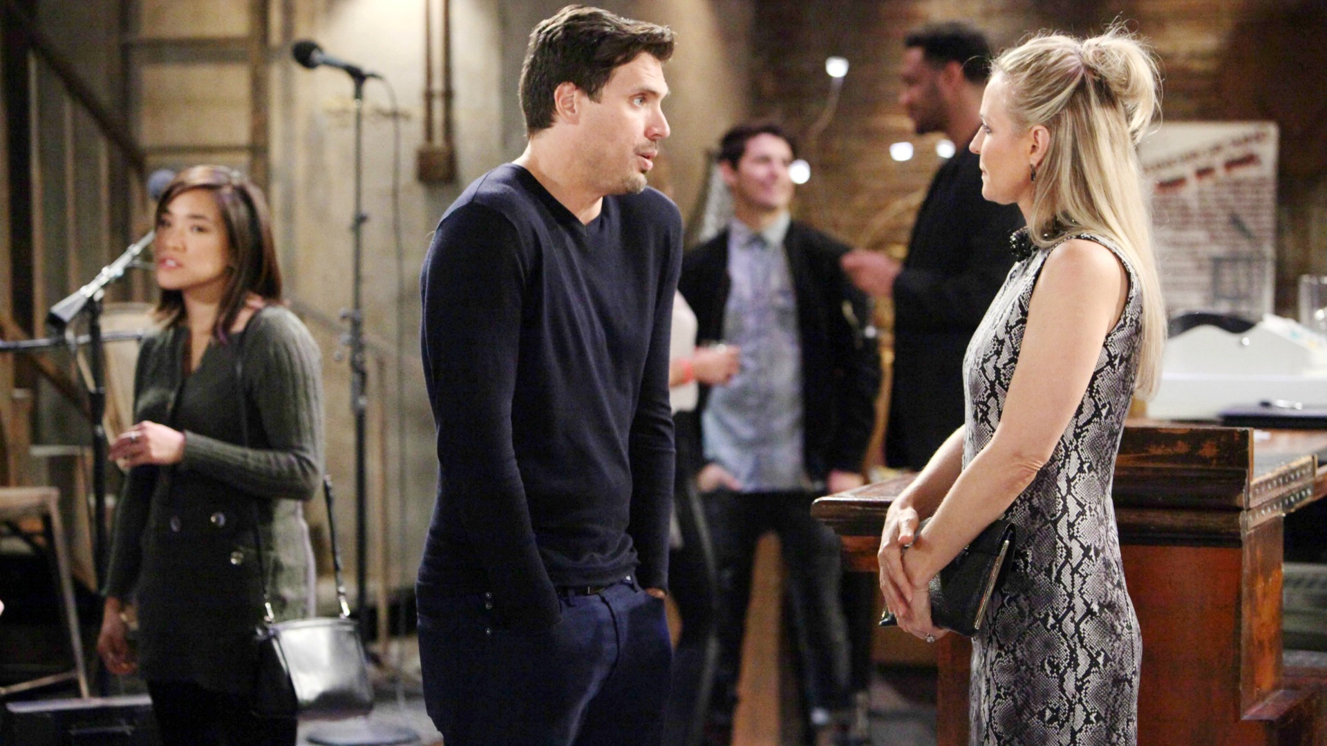 Sharon and Nick discuss their past.