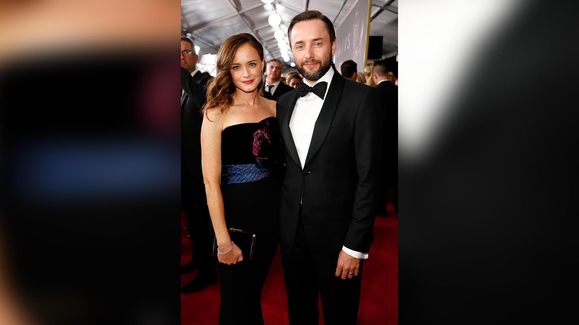 Alexis Bledel from The Handmaid's Tale and husband Vincent Kartheiser