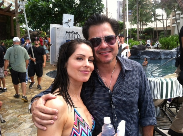 Michelle Borth and Peter Lenkov