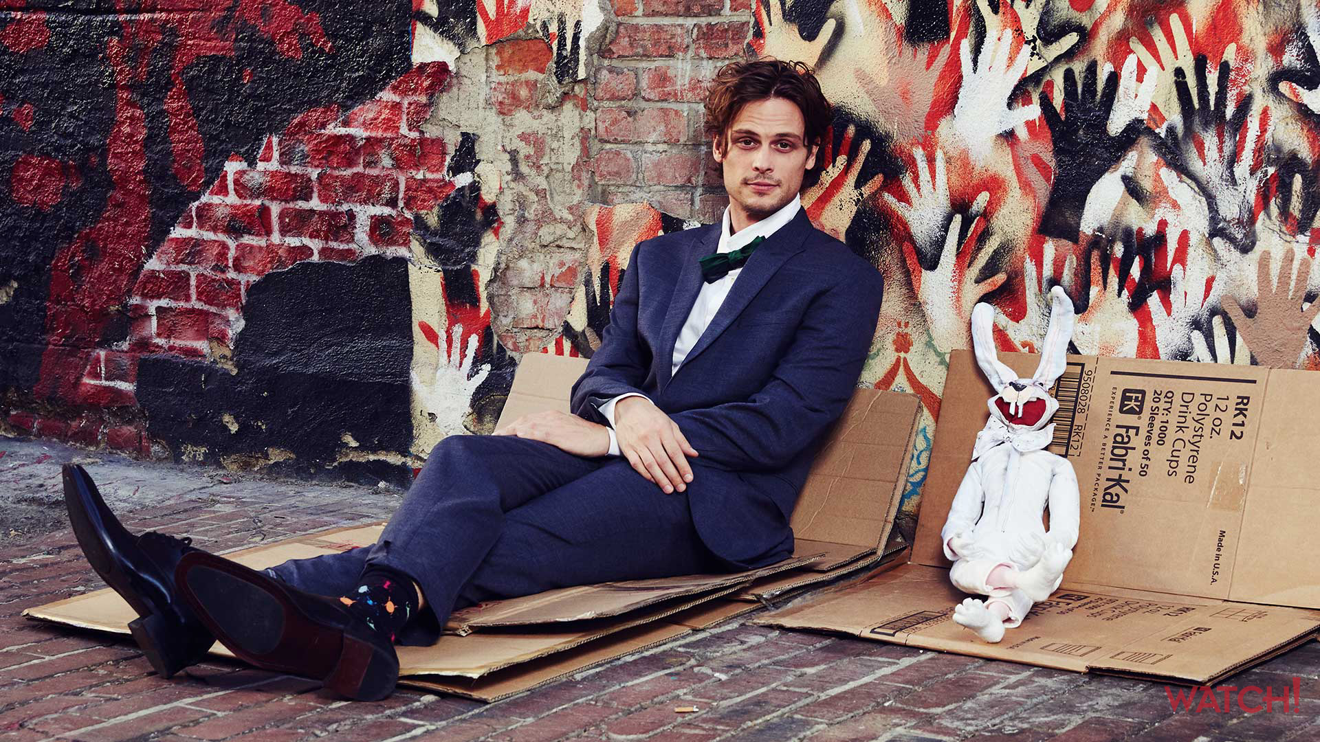 These out of the ordinary photos of Criminal Minds star Matthew Gray Gubler are amazing!