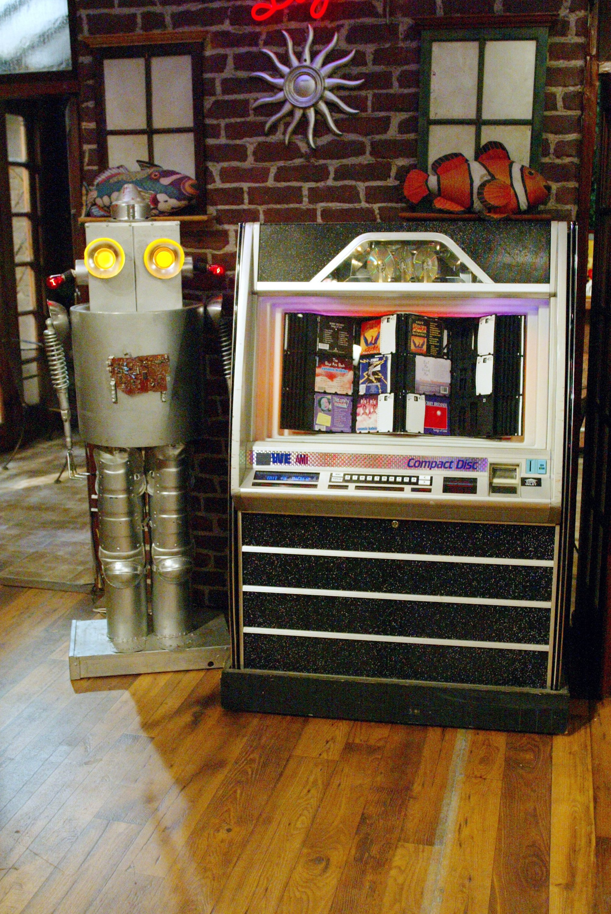 Robot and the Jukebox