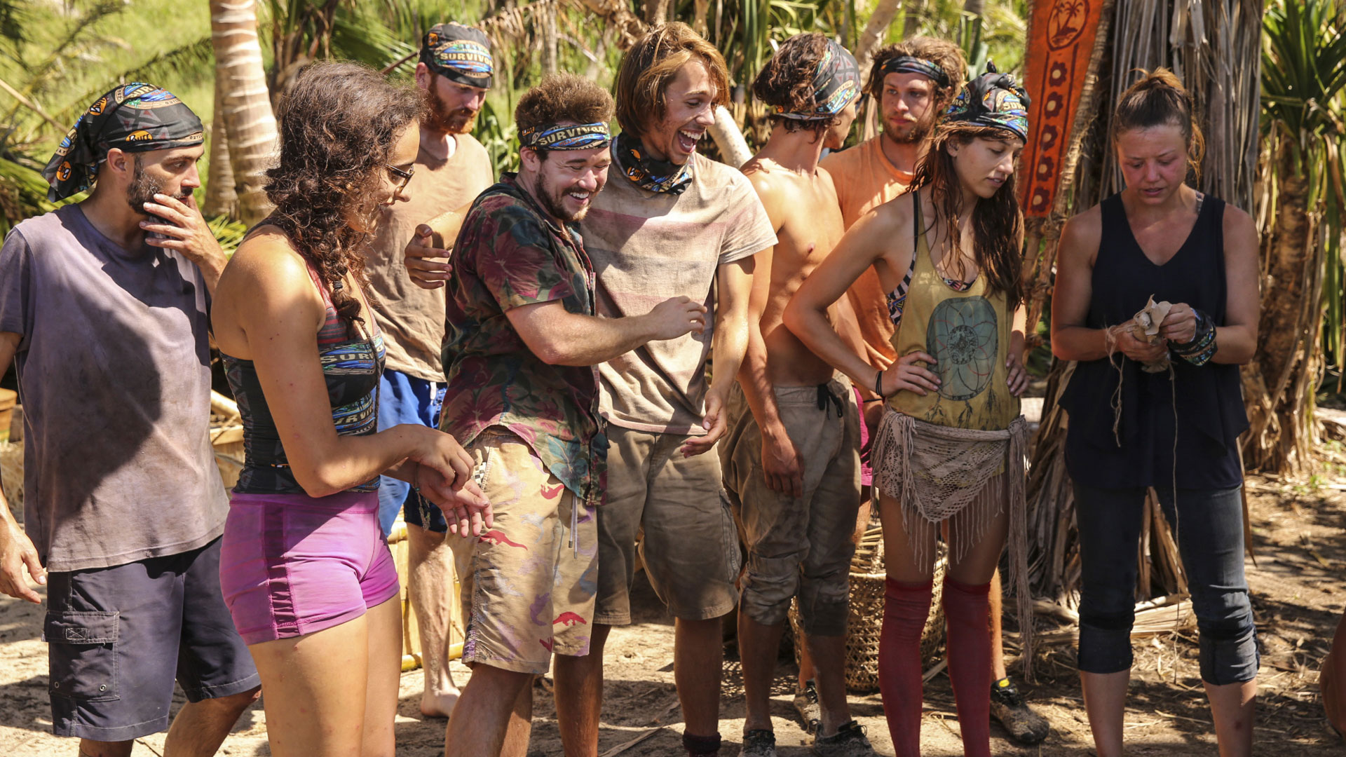 Congratulations, castaways. You made it to the merge!