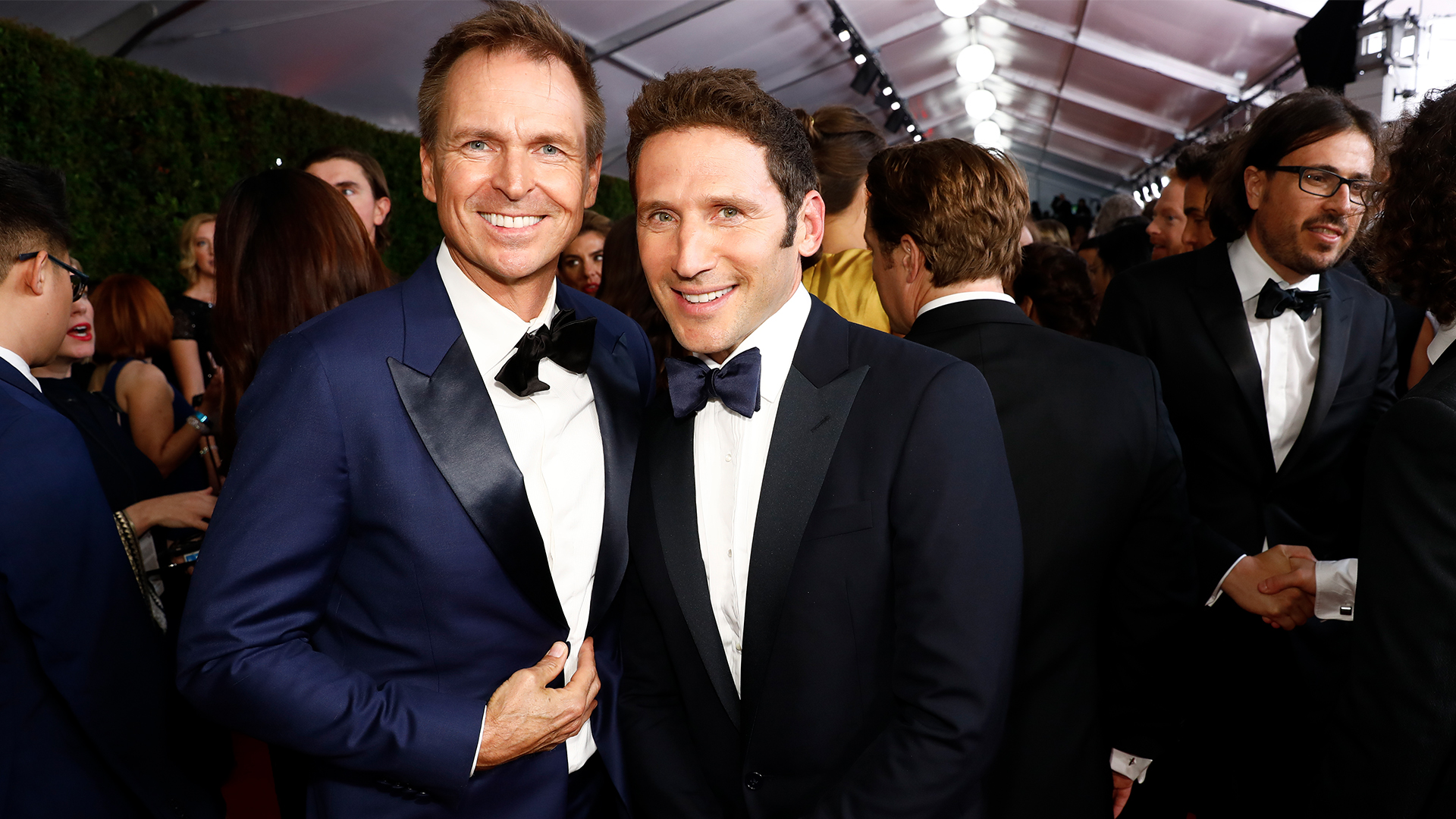 Phil Keoghan from The Amazing Race and Mark Feuerstein from 9JKL