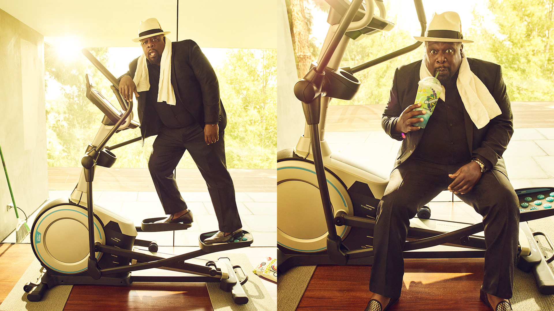 Cedric the Entertainer is a King of Comedy