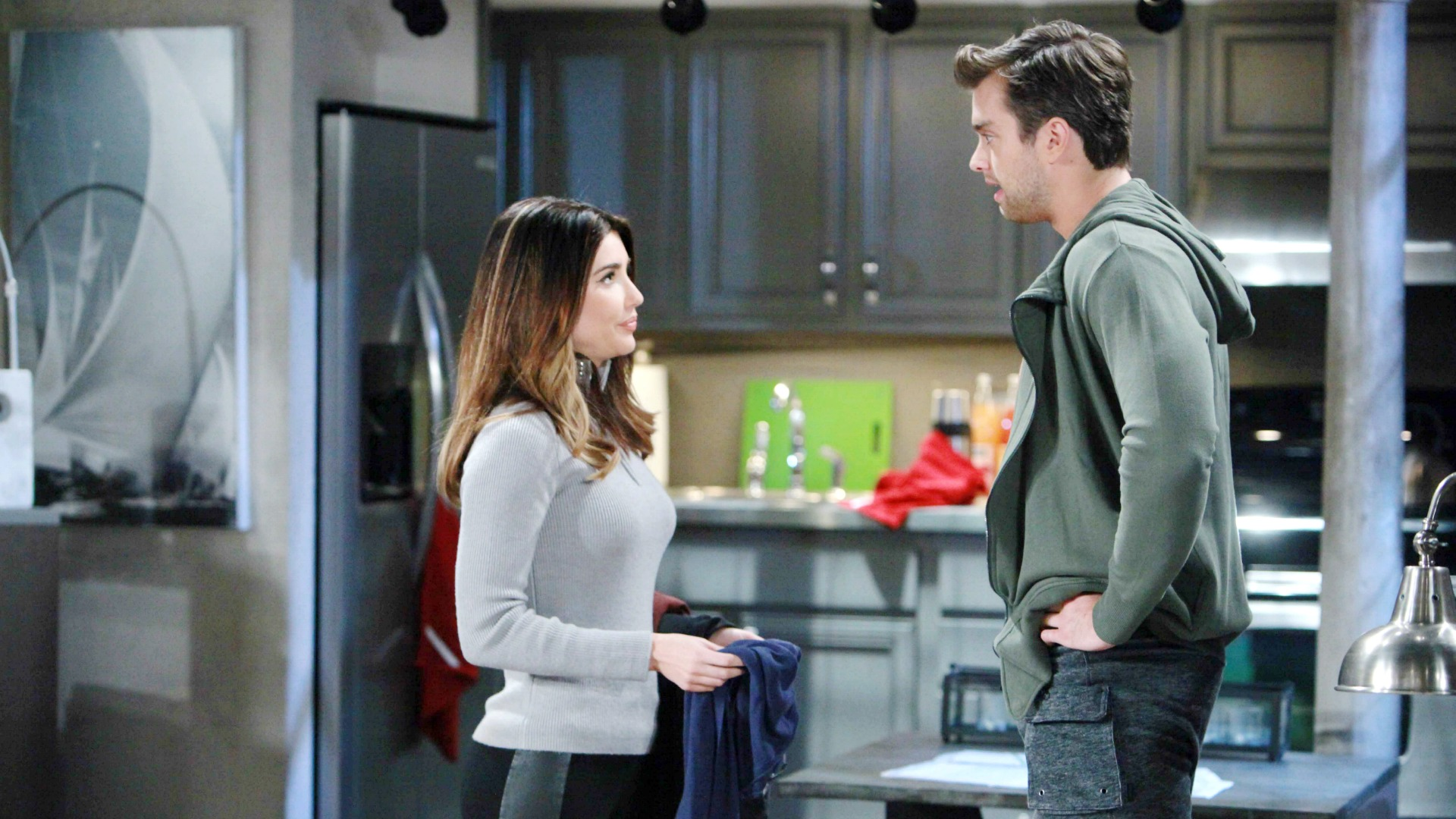 Thomas shares heartbreaking news about his personal life with Steffy.