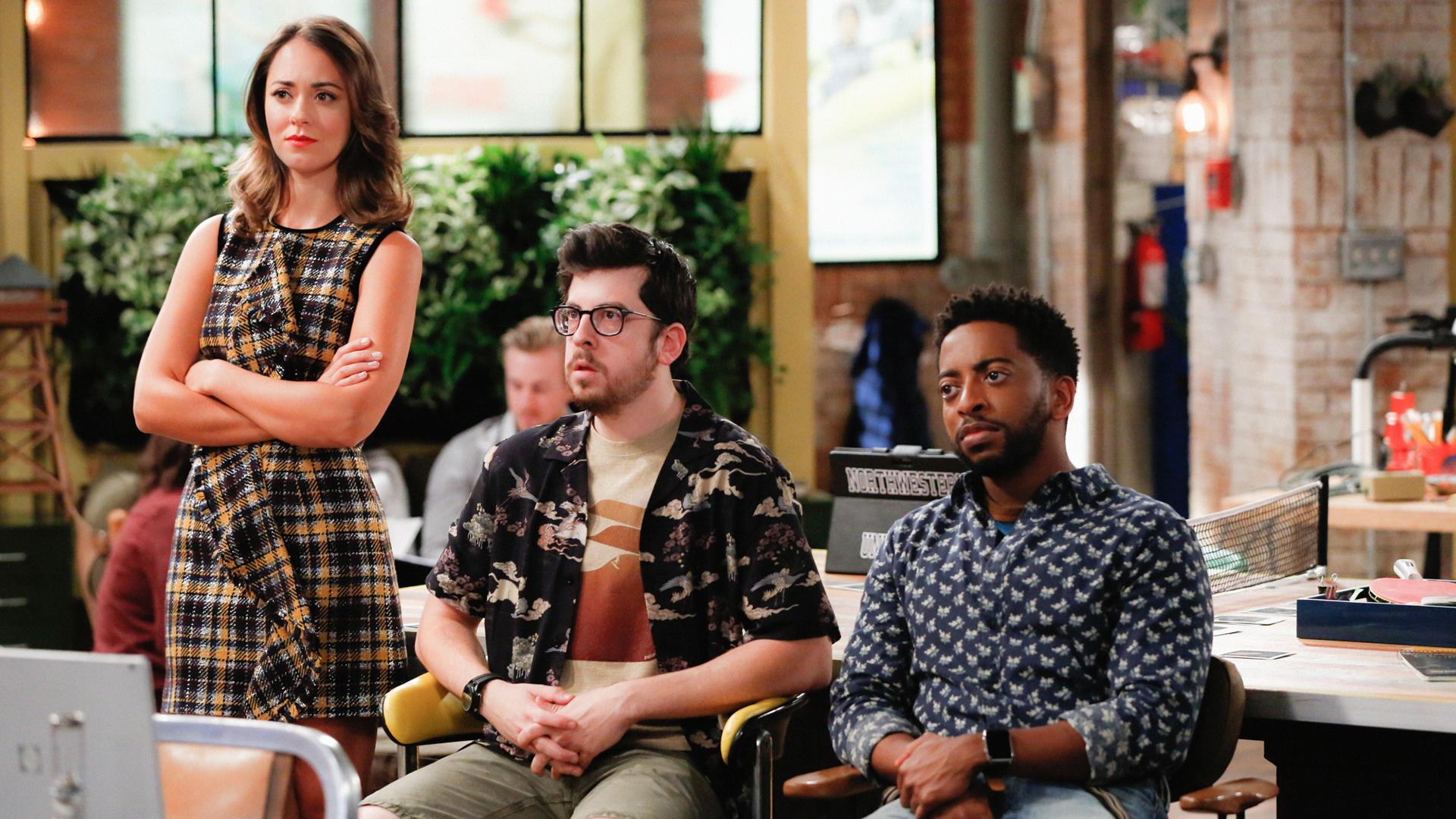 Brooke, Clark, and Mason look warily at Jack.